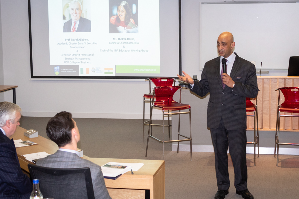 Stelfox is proud to have had two guest speakers at the Ireland India Business Association and UCD Smurfit Indian Student Career Forum