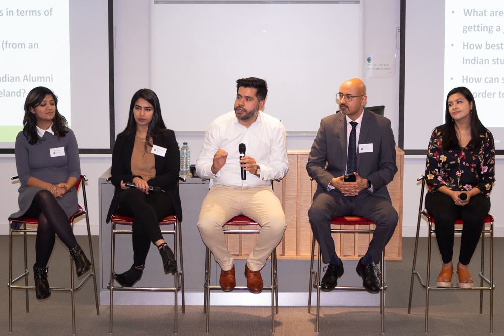 Stelfox is proud to have had two guest speakers at the Ireland India Business Association and UCD Smurfit Indian Student Career Forum 4