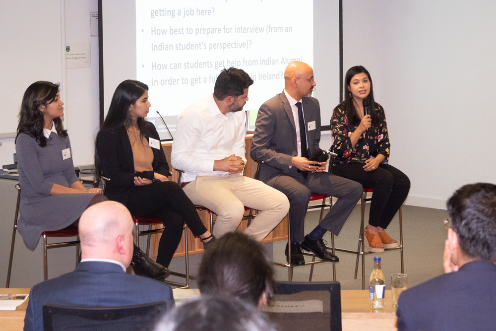 Stelfox is proud to have had two guest speakers at the Ireland India Business Association and UCD Smurfit Indian Student Career Forum 7